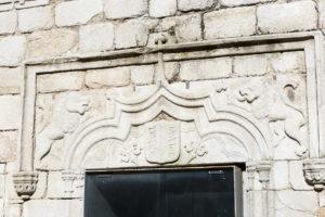 Portico capilla Castillo de la Coracera